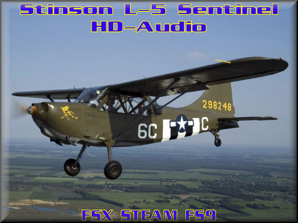 Stinson L-5 HD-Audio
