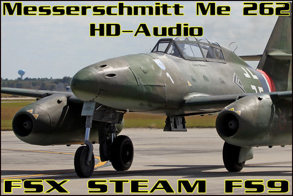Messerschmitt Me 262 HD-Audio