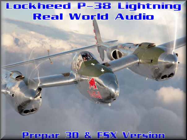 Lockheed P-38 Lightning Real World Audio