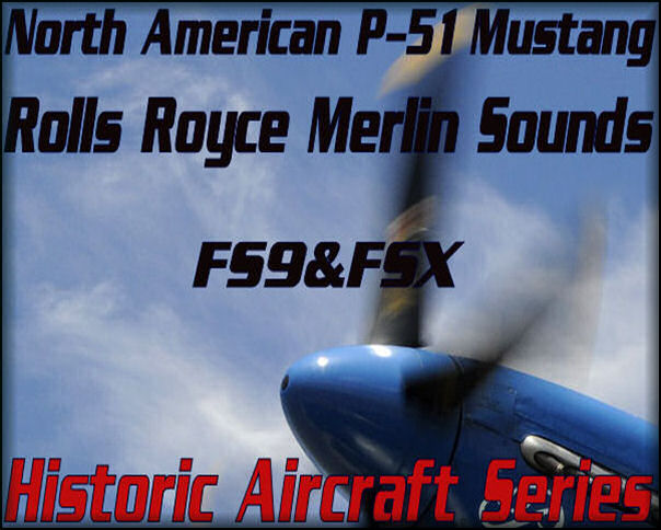 North American P-51 RR Merlin Audio