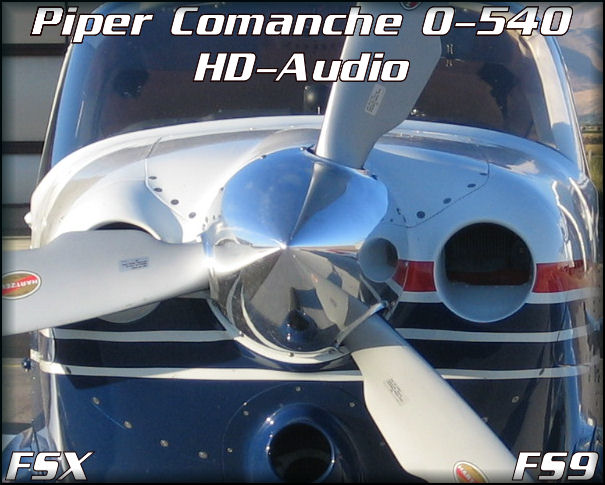 Piper Comanche 0-540 HD-Audio