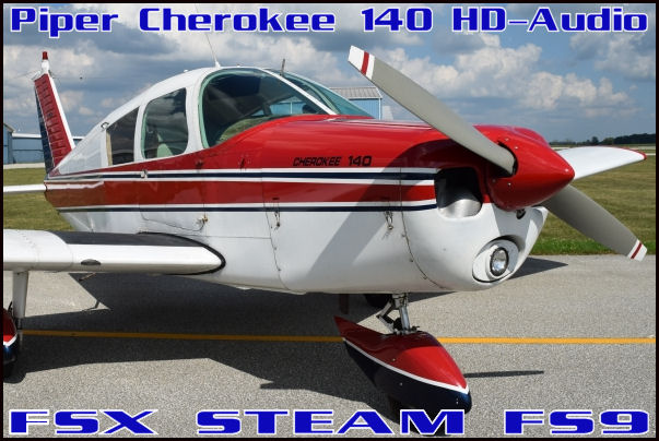 Piper Cherokee 140 HD-Audio
