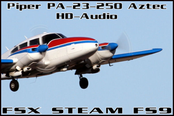 Piper Aztec 250 HD-Audio