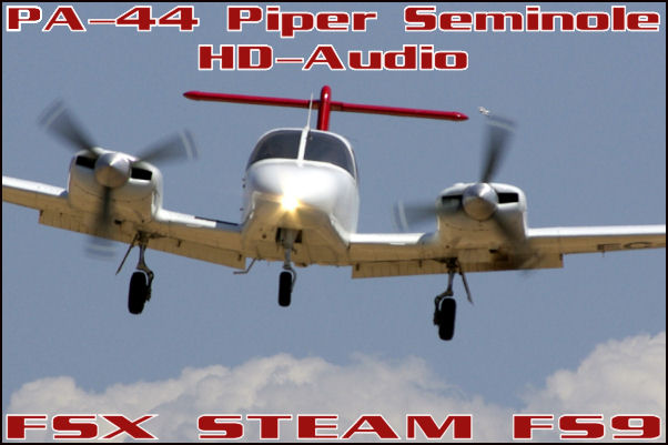 PA-44 Piper Seminole HD-Audio