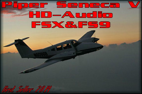 Piper SenecaV/II HD-Audio
