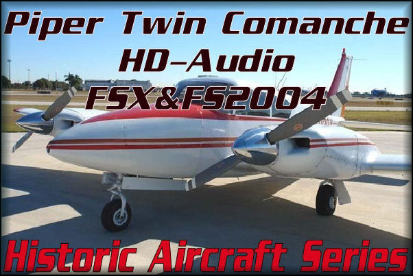 Piper Twin Comanche HD-Audio