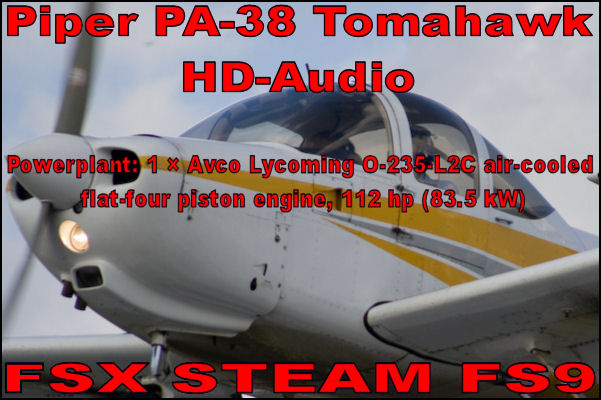 Piper PA-38 Tomahawk HD-Audio