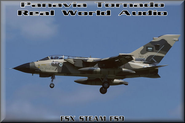 Panavia Tornado Real World Audio