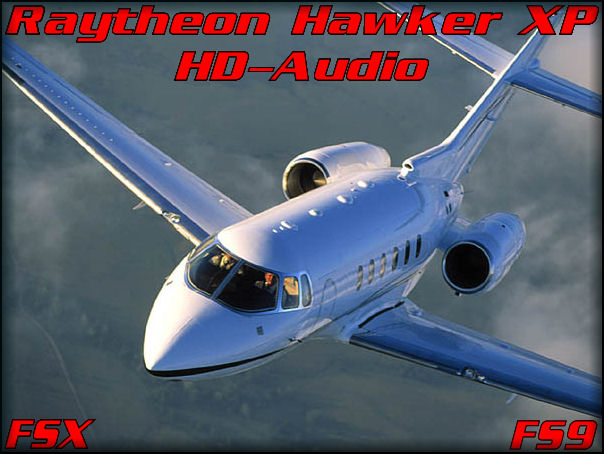 Raytheon Hawker 800XP HD FSX&FS9
