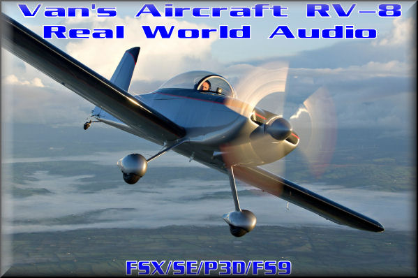 Van's RV-8 Real World Audio