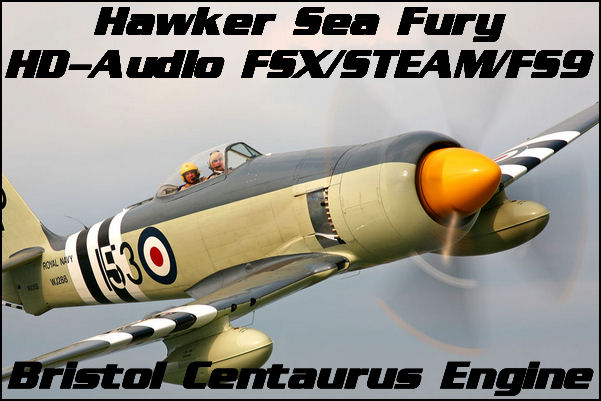 Hawker Sea Fury HD-Audio