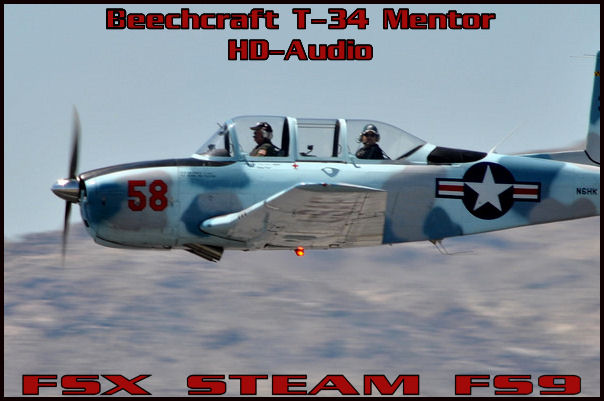 Beechcraft T-34 Mentor HD-Audio