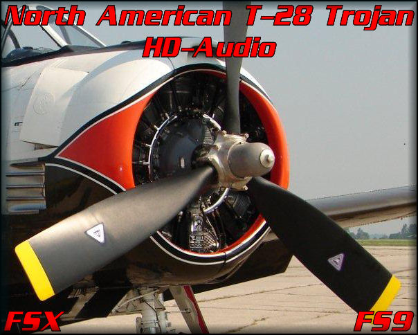 NA T-28 Trojan HD-Audio FSX