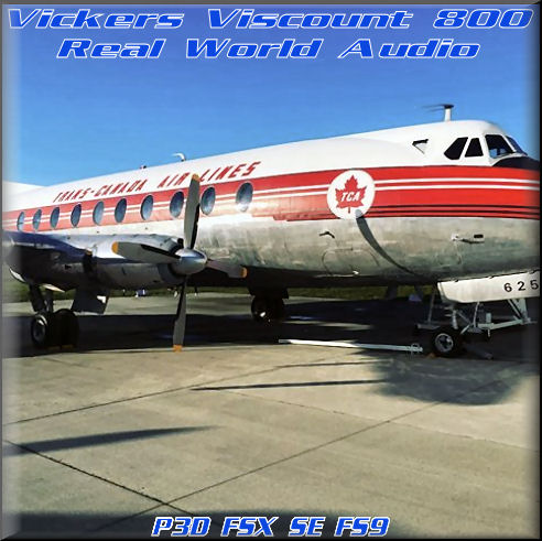 Vickers Viscount 800 R.W.A.