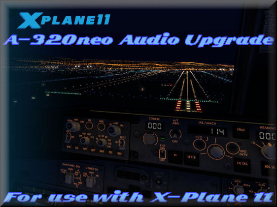 X-Plane A320neo HD-Audio