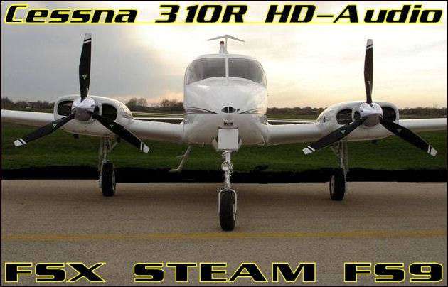 Cessna 310R HD-Audio