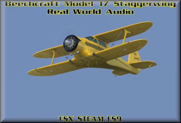 Beechcraft Model 17 Staggerwing HD-Audio