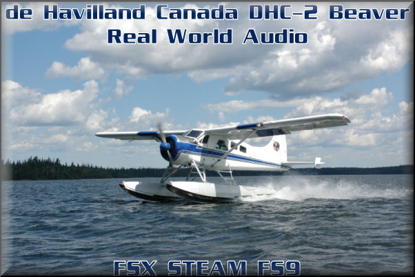 DHC-2 Beaver Real World Audio