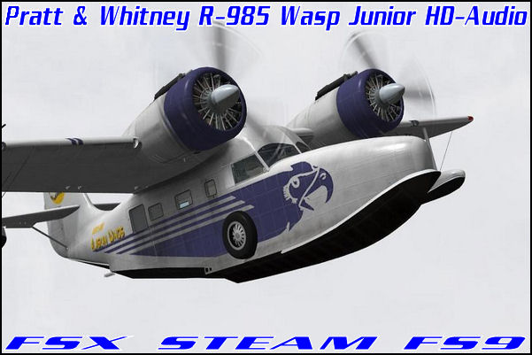 Pratt & Whitney R-985 Wasp Junior