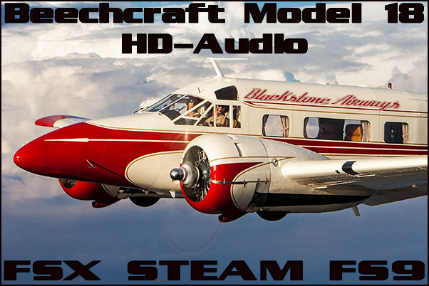 Twin Beechcraft Model 18 HD-Audio