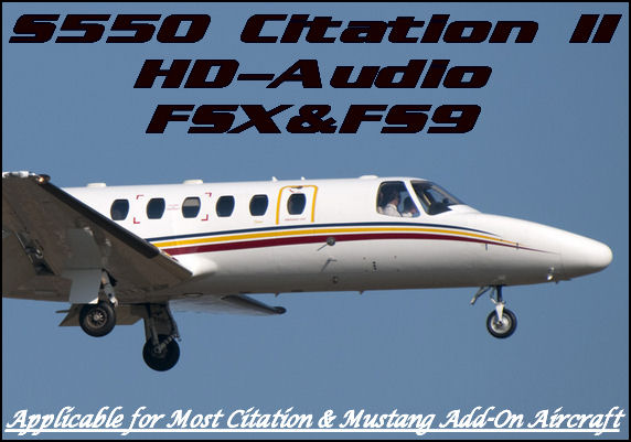 S550 Cessna Citation II HD-Audio