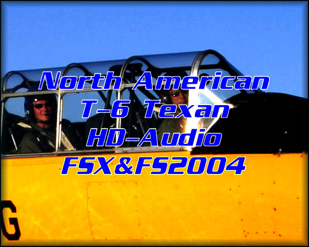 NA T-6 Texan HD-Audio