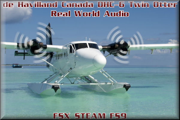de Havilland DHC-6 Twin Otter Real World Audio